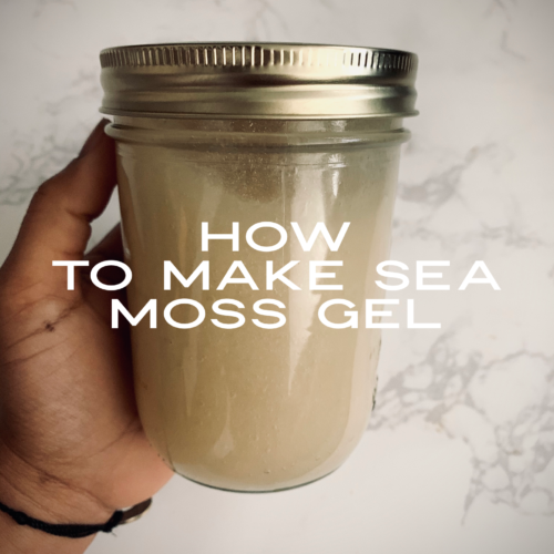 How To Make Sea Moss Gel No Heat Required That Green Lyfe